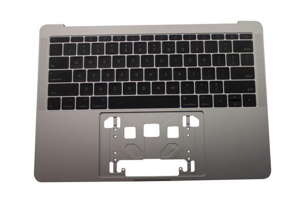 Topcase inclusief toetsenbord voor MacBook Pro A1708 (Silver)